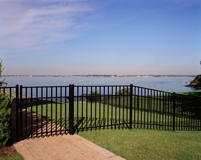 Aluminum Estate Fence Ascot Style (3 Rial)